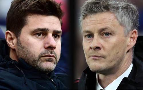 Pochettino và Solskjaer là hai ứng viên cho vị trí HLV chính thức của Man Utd. Ảnh: AFP.