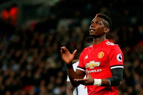 Pogba chứng tỏ giá trị cầu thủ đắt giá nhất của Man Utd. Ảnh: Reuters.