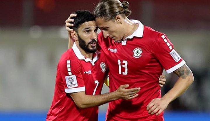 Cầu thủ Palestine tiếc nuối với những cơ hội bị bỏ lỡ ở trận gặp Triều Tiên. Ảnh: AFC.