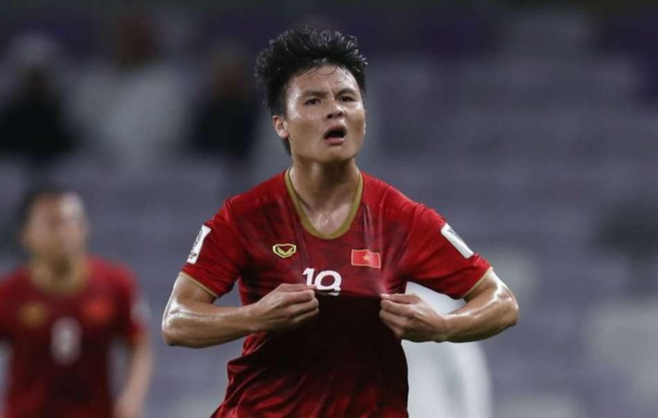 Asian Cup 2019: Quang Hải vào top 10 cầu thủ hay ở lượt cuối vòng bảng Asian Cup