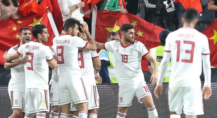 Iran tiếp tục thể hiện lối chơi mạnh mẽ, thuyết phục.