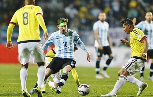 Argentina sớm gặp cường địch ở vòng bảng. Ảnh: Reuters