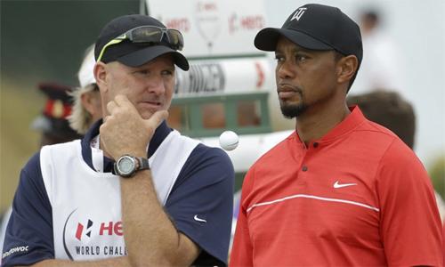 Woods và LaCava là những người bạn thân bên ngoài sân golf. Ảnh: Golfweek.