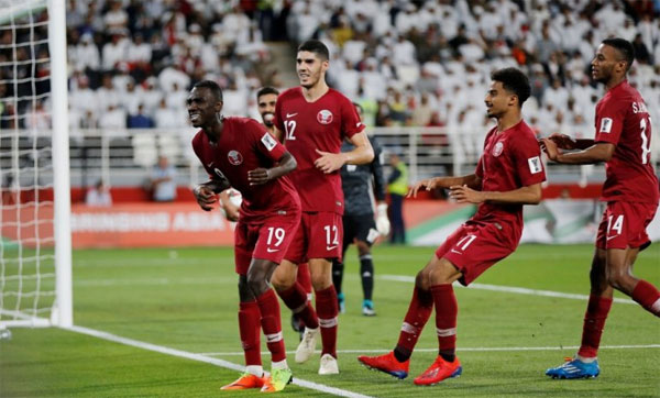 Almoez Ali đã có bàn thứ tám tại Asian Cup 2019.