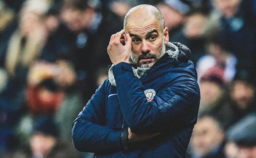 Guardiola thất bại trong trận thứ 100 tròn dẫn dắt Man City. Trong 100 trận ấy, ông cùng đội thắng 73, hoà 15 và thua 12 trận.