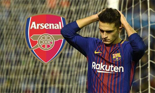 Tương lai của Denis Suarez với Arsenal chưa chắc chắn.