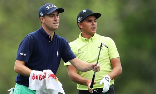 Thomas và Fowler cùng khởi đầu ấn tượng với điểm -7 tại Phoenix Open. Ảnh: Golfweek.