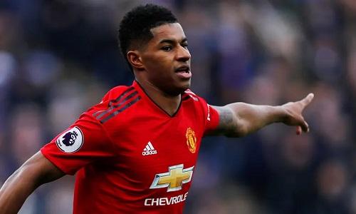 Rashford ghi bàn thắng duy nhất của trận đấu sau một đường chuyền tinh tế của Pogba. Ảnh: Reuters.