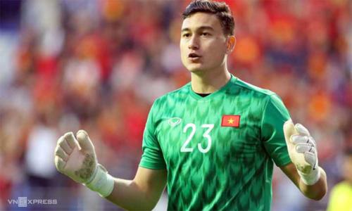 Đặng Văn Lâm là trụ cột của tuyển Việt Nam vô địch AFF Cup 2018 và vào tứ kết Asian Cup 2019. Ảnh: Anh Khoa.