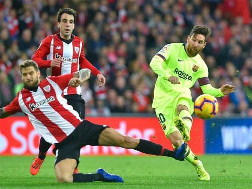 Messi chưa lấy lại phong độ tốt nhất sau chấn thương.