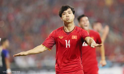 Sau một năm chói sáng cùng Bóng đá Việt Nam, Công Phượng lần thứ hai ra nước ngoài thi đấu. Ảnh: Đức Đồng.