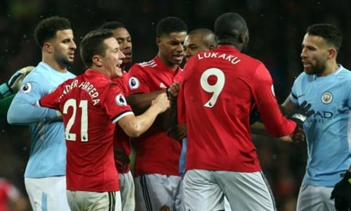 Trận derby thành Manchester chưa diễn ra ở vòng tứ kết Cup FA. Ảnh: PA.