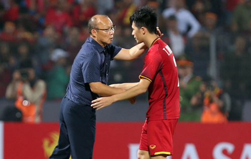 HLV Park Hang-seo cho rằng Việt Nam đang có lứa cầu thủ chất lượng, có thể tgấy bất ngờ tại vòng loại World Cup 2022.