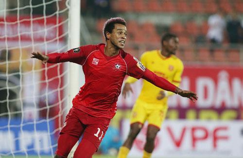Đánh bại Nam Định, Hải Phòng có chiến thắng đầu tiên ở V-League 2019. Ảnh: Lâm Thỏa