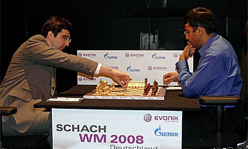 Hai cựu Vua cờ - Kramnik và Anand - đều ưa dùng d4.