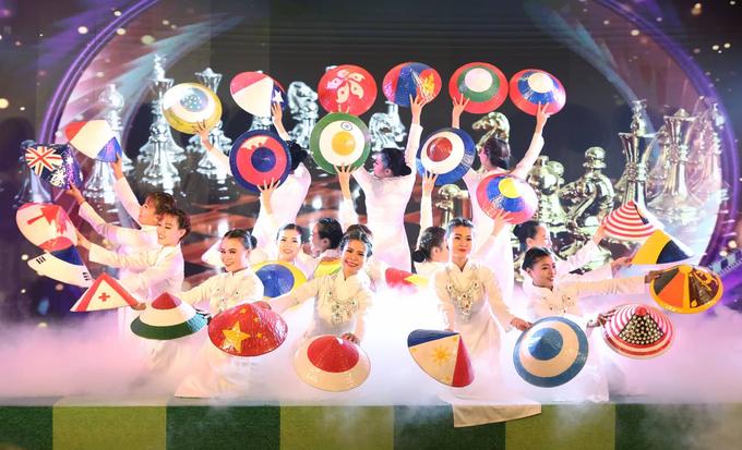 Lễ khai mạc đầy sắc màu của giải cờ vua HDBank 2019