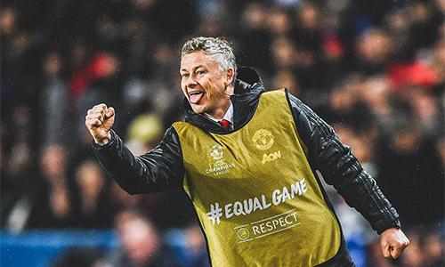 Solskjaer không giấu phấn khích trước cách các học trò cùng ông làm nên màn ngược dòng ngoạn mục cho Man Utd.