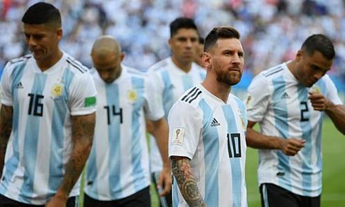 Messi trở lại làm đầu tàu cho Argentina ở Copa America 2019. Ảnh: AFP.