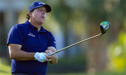 Mickelson có dấu hiệu sa sút phong độ sau khi đã chơi tốt ở hai tháng đầu năm 2019. Ảnh: Golf Digest.