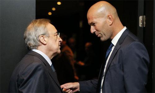Perez và Zidane sẽ hướng đến những cầu thủ mới. Ảnh: Marca