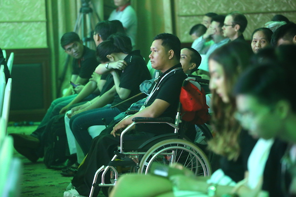 Giải đấu còn tạo cơ hội để những vận động viên khuyết tật tham gia tranh tài, thi đấu trong bảng Challengers.