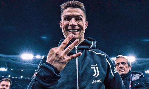 Ronaldo đến Juventus với khát vọng chinh phục Champions League, và vừa tiến thêm một bước trên đường thực hiện mục tiêu ấy.