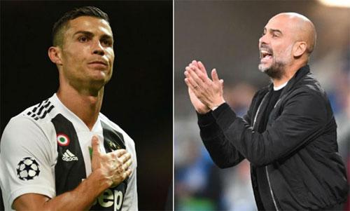 Man City có khả năng đối đầu Juventus ở những vòng tiếp theo.