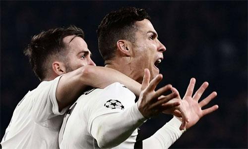 Ronaldo vừa làm nên điều thần kỳ cho Juventus. Ảnh: Reuters