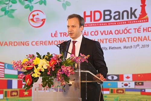 ÔngDvorkovich từng làChủ tịch Ủy ban tổ chức World Cup FIFA 2018.