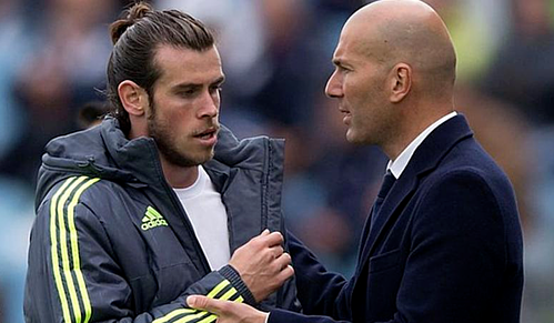 Zidane và Bale sẽ làm việc với nhau ít nhất tới hết mùa giải. Ảnh: AFP.