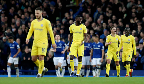 Chelsea dính quy luật bóng đá: Tấn công nhiều mà không ghi bàn, sẽ phải trả giá. Ảnh: Reuters.