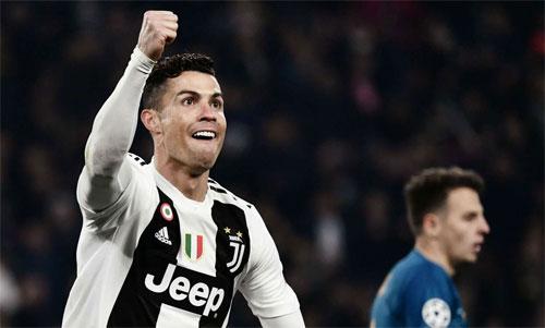 Ronaldo đang chơi rất hay tại Juventus. Ảnh: Reuters