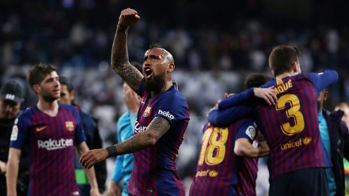 Barca tiến gần đến chức vô địch La Liga.