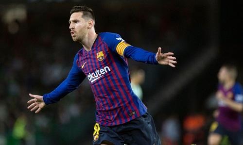 Messi đang có phong độ rất cao tại Barca. Ảnh: AFP.