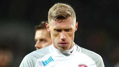 Pogrebnyak chơi 33 trận ghi tám bàn cho tuyển Nga. Ảnh: AFP.