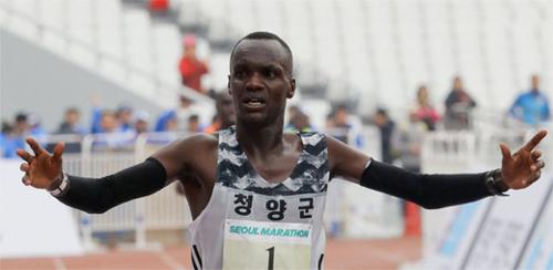 Erupe, hay Oh Joo-han theo tên trong quốc tịch mới, là một niềm hy vọng của điền kinh Hàn Quốc tại Olympic 2020. Ảnh: Jong-a Ilbo.