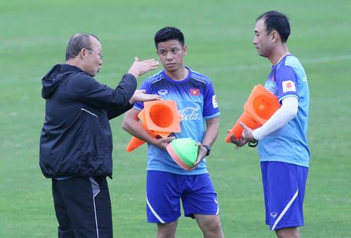 Gặp đối thủ Brunei là cơ hội để HLV Park Hang-seo thử nghiệm nhân sự và chiến thuật,