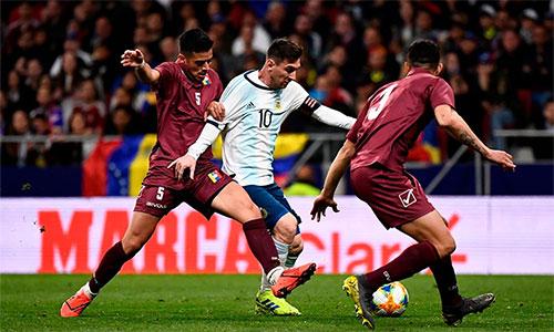 Messi không để lại dấu ấn tích cực trong trận đấu tại Wand Metropolitano.