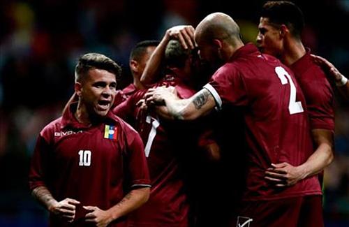Venezuela có trận đấu thăng hoa bất ngờ.