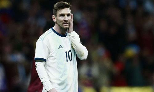 Argentina chịu thua một cách dễ dàng.