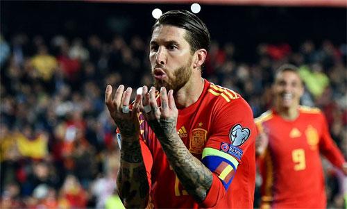 Trung vệ thủ quân Ramos có tỷ lệ lập công khiến nhiều tiền đạo thèm muốn.