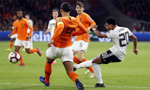 Đức thi đấu với tinh thần rất cao. Ảnh: Reuters