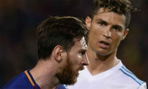 Messi và Ronaldo cùng nhau thống trị kỷ nguyên bóng đá hiện đại. Ảnh: Reuters
