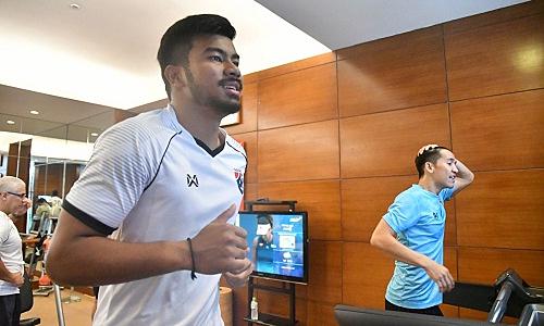 Thái Lan tập nặng trước trận đấu Việt Nam