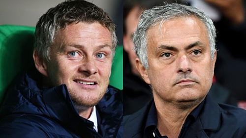 Solskjaer và Mourinho tạo ra hiệu ứng khác nhau ở Man Utd. Ảnh: AFP.