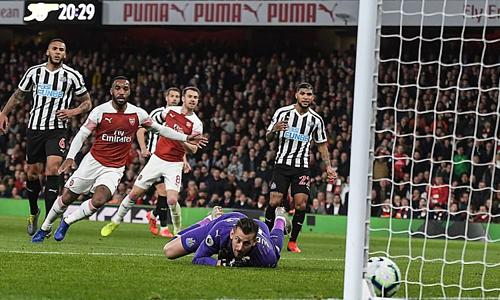Arsenal chiến thắng nhờ tận dụng cơ hội tốt hơn trước Newcastle.