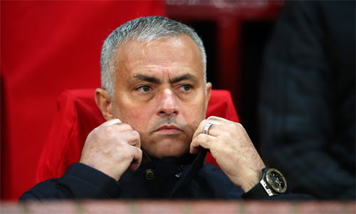Mourinho đã sẵn sàng cho công việc mới. Ảnh: Reuters