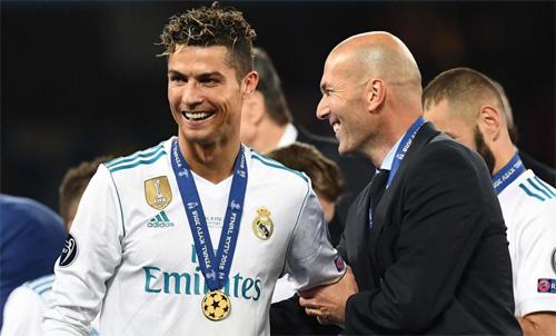 Zidane biến Real thành một thế lực bất khả xâm phạm cho đến khi ông ra đi năm 2018. Ảnh: Reuters