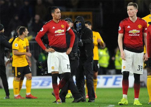 Man Utd thi đấu thiếu tập trung trong trận gặp Wolves. Ảnh: Reuters