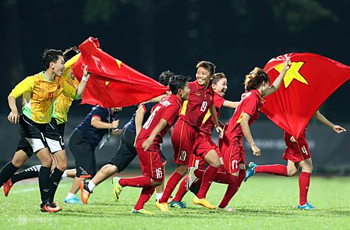 Xuất sắc giành vé đến vòng loại cuối cùng như cơ hội để dự Olympic với tuyển nữ Việt Nam là rất nhỏ. Ảnh: Đức Đồng.